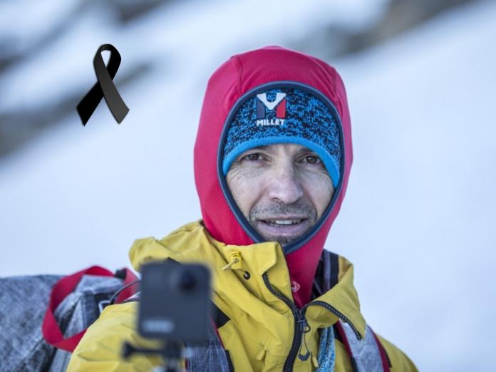 Sergi Mingote al descender del K2