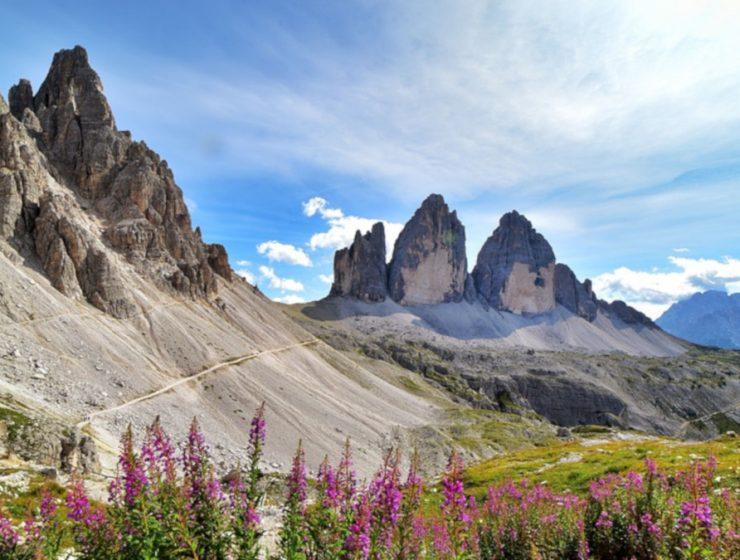 Dolomitas, Las Tres Cimas de Lavaredo, Italia