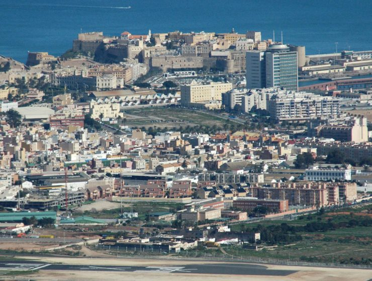 Melilla, vista desde ladera del Gurugú / Foto: Miguel González Novo [CC BY-SA 2.0] Wikimedia Commons