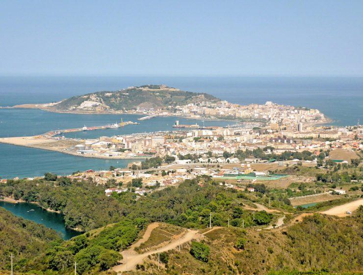 Vista de Ceuta desde el mirador de Isabel II / Foto: Mario Sánchez Bueno Ceuta [CC BY-SA 2.0] Wikimedia Commons