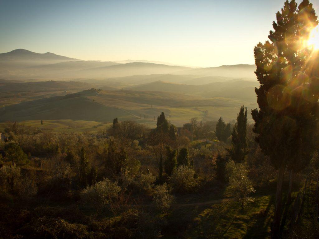 Val d'Orcia, italia / Foto: Daniel Genser (unsplash)