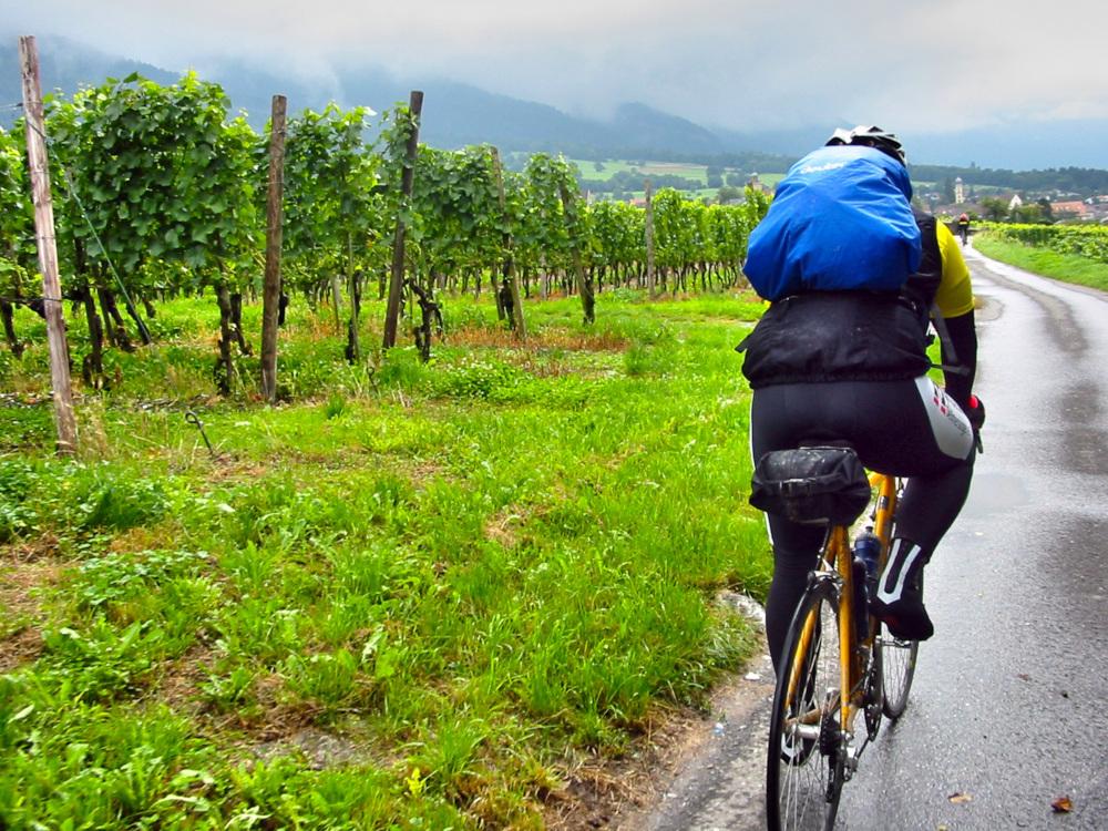 Rin en bicicleta