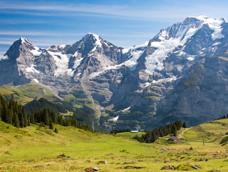 Eiger, Mönch and Jungfrau / Foto: Christoph Strässler (CC BY-SA 2.0) (Flickr)