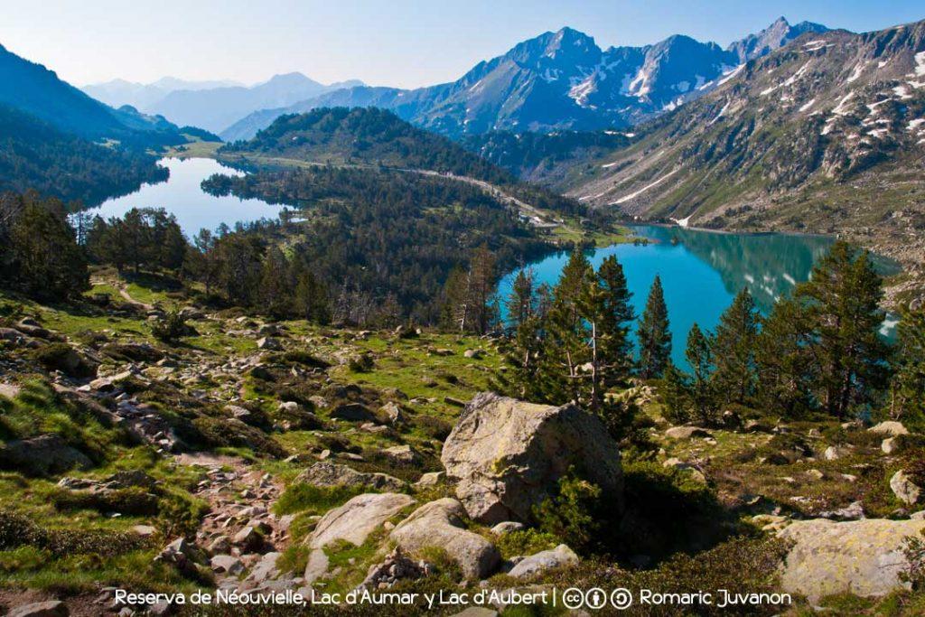 Lac d'Aumar y Lac d'Aubert, Réserve Naturelle Nationale du Néouvielle / Foto: Romaric Juvanon [CC-BY-SA-4.0] Wikimedia Commons