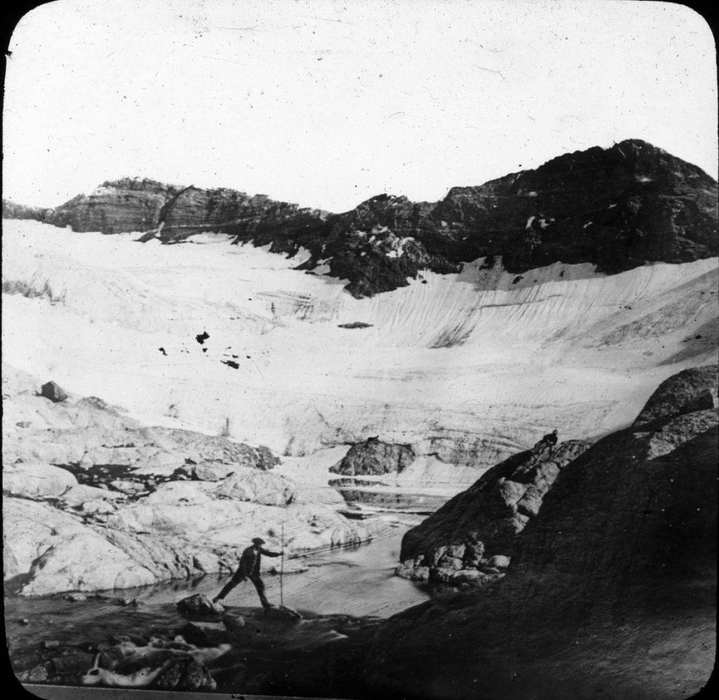 Déversoir du lac glacé du Portillon, 4e lac , Autor : Trutat, Eugène , Pyrénées (Espagne) , Fecha : 1859-1910