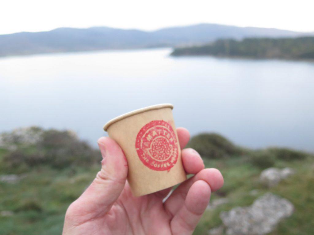 Amatter Coffee en el Embalse de Ullíbarri-Gamboa.