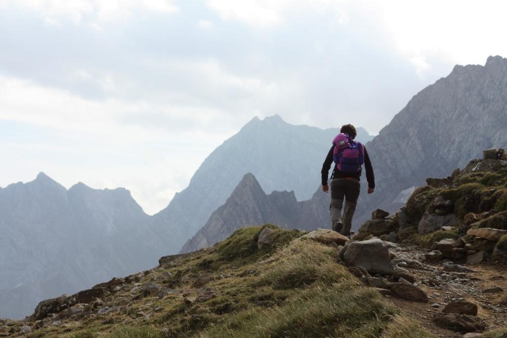 ARP - Alta Ruta Pirenaica: camino del refugio de la Brecha de Rolando