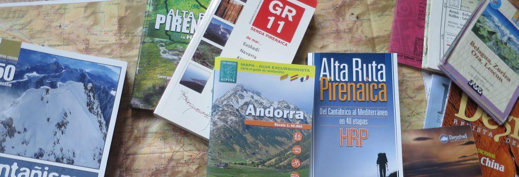 Libros de la ARP - Alta Ruta Pirenaica