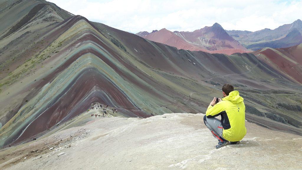 Montaña de colores. Ausangate Trek / Foto: Christian Morales Callo (Wikimedia Commons)