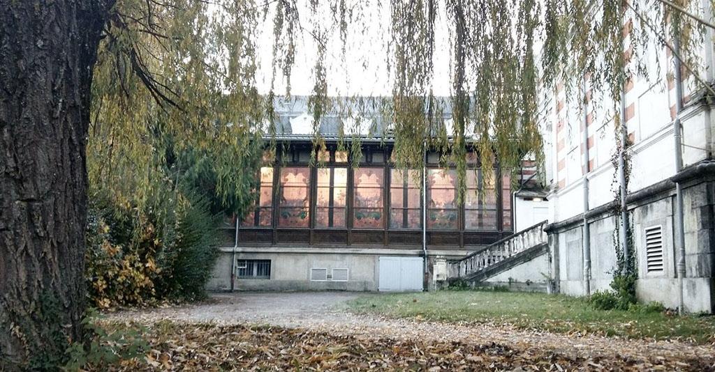 Casino de Bagnères. Coloquio Internacional de refugios pirenaicos. Luchon