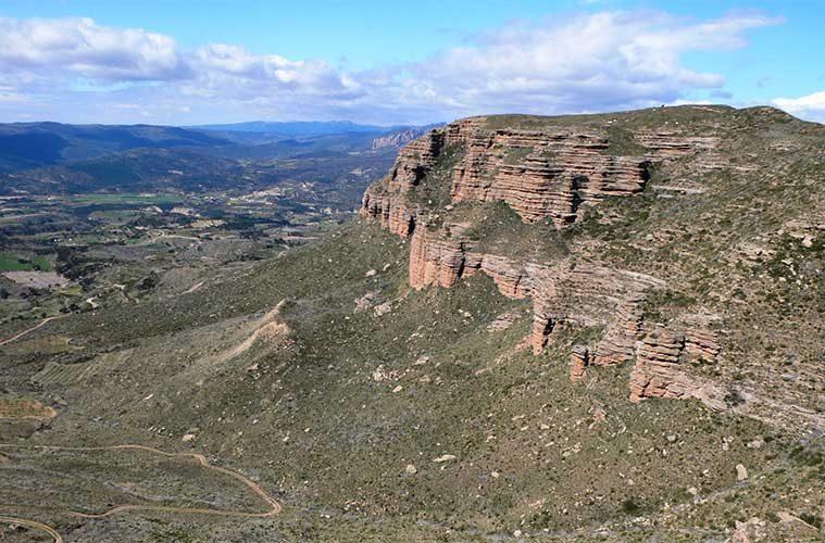 Panoramica desde Sarsamarcuello / Foto: Angel Fandos (via Wikimedia Commons)