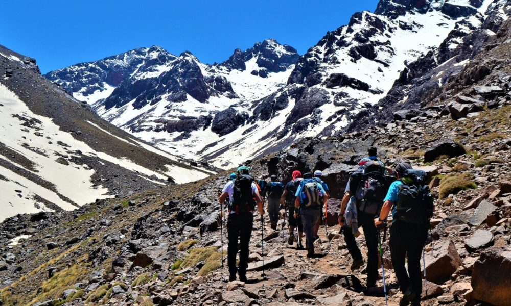 Ascensión al Toubkal / Foto: Toubkal4167 (CC BY-SA 4.0) Wikimedia Commons