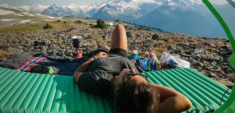 Esterilla vivac trekking Pirineos