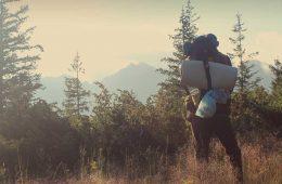 Equipamiento para la realización de vivac en los Pirineos