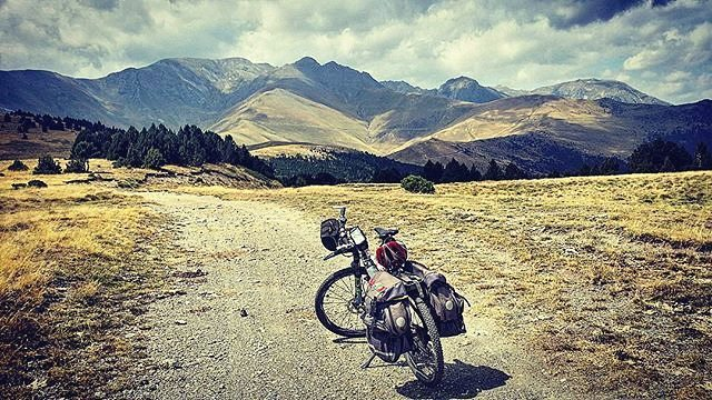 rutas de montaña btt Pirineos