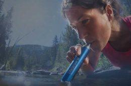 Filtros agua personal portátiles para equipamiento outdoor y senderismo