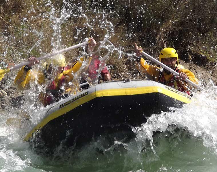 Rafting en los Pirineos