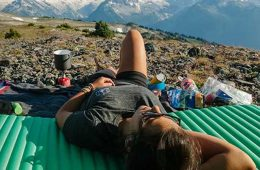 Equipamiento para un buen descanso en alta montaña: esterilla de montaña