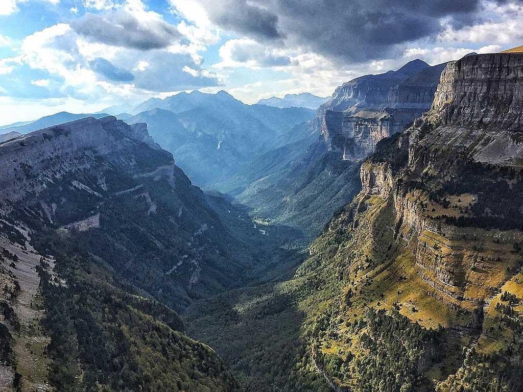 Parque Nacional de Ordesa y Monte Perdido / Foto: @peremartell (Instagram)