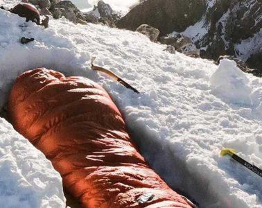 Foto viral de outdoor y montaña. Vivac en la cima de Monte Perdido / Foto: @pvignaux (Instagram)