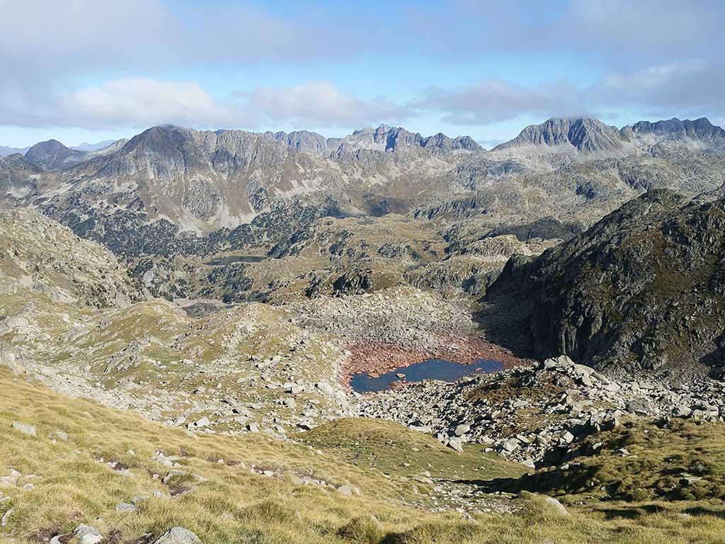 La Transpirenaica es una ruta de montaña que cruza los Pirineos