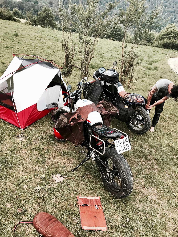 Transpirenaica en moto / Foto: North Wheels club