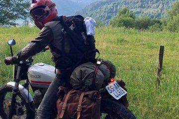 Un viaje a través de los Pirineos en moto / Foto: @northwheels (Instagram)