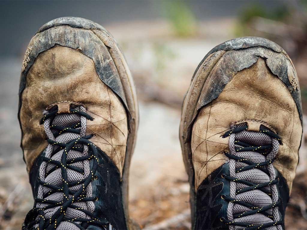 La importancia del calzado den el cuidado de los pies en senderismo/ Foto (cc): Tim Foster