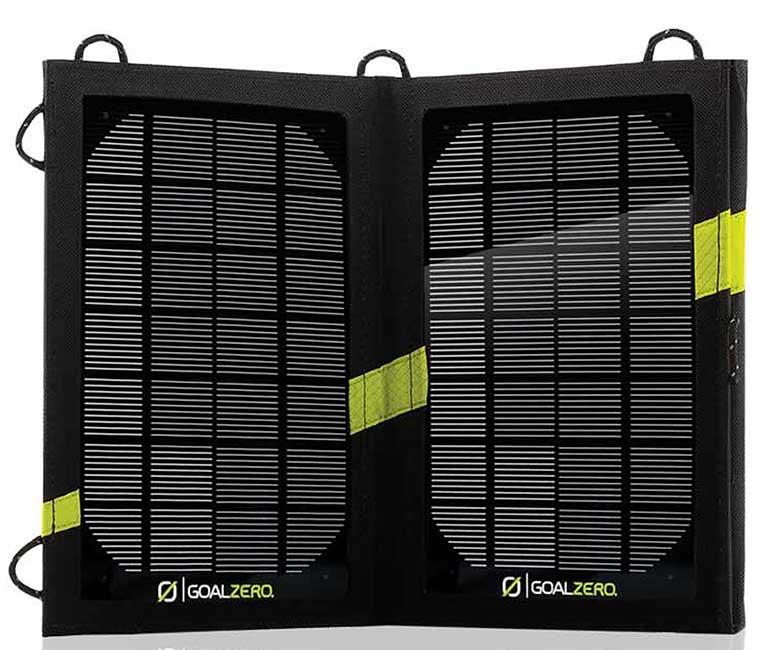 Cargador solar portable