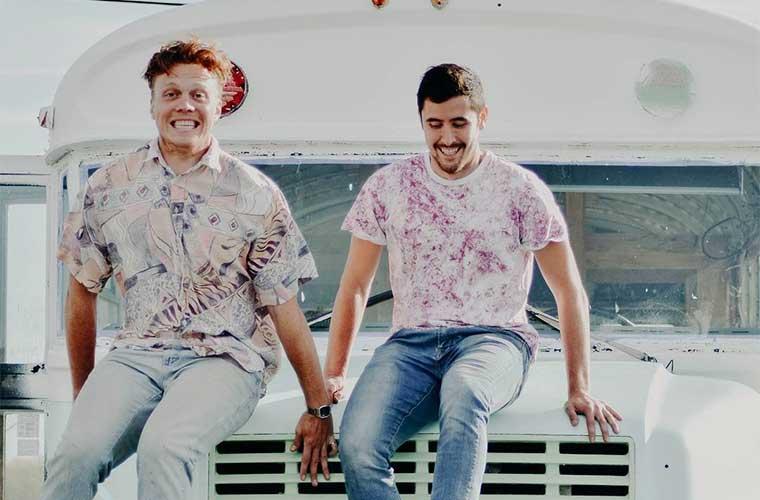 Erik y Michael saben soñar en grande y se muestran optimistas / Foto: Sustainabus