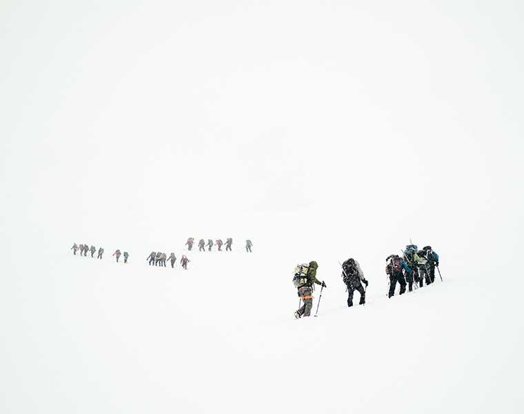 Como caminar en la nieve / Foto: Todd Diemer