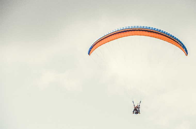 Parapente en los pirineos / Foto: Vinicius Henrique
