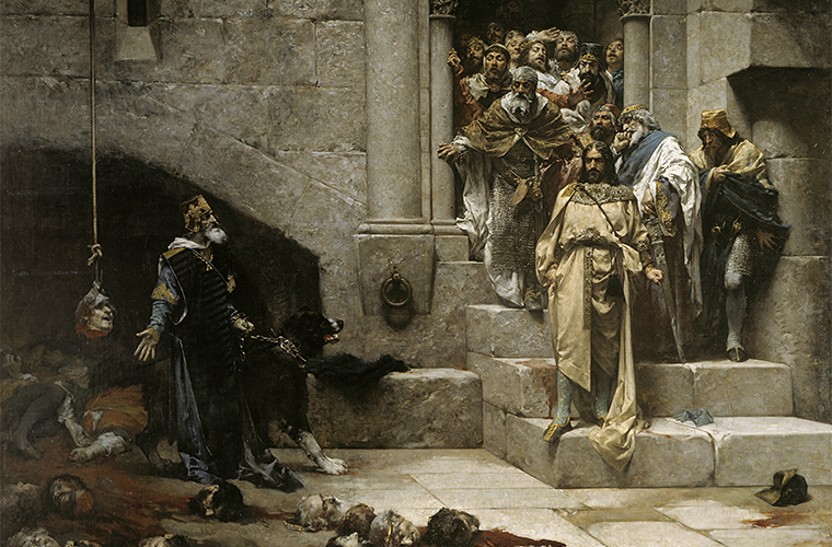 La leyenda de la campana de Huesca / Foto: José Casado del Alisal_ (Wikimedia Commons)
