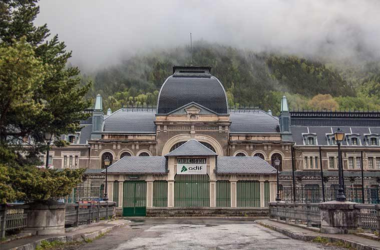 Estación Internacional de Canfranc / Foto: Juanedc.com (Flickr)