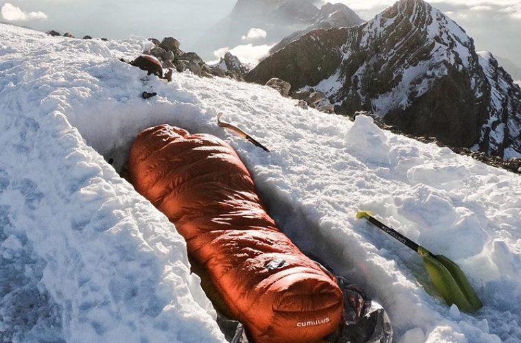 Vivac en la cima de Monte Perdido / Foto: @pvignaux (IG)