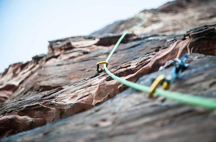 Escalada y miedo / Foto: Brook Anderson