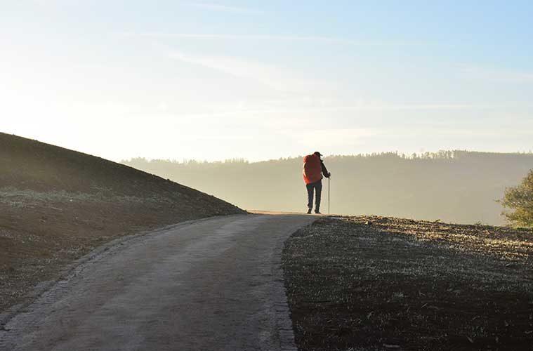 Preparación física para recorrer el Camino de Santiago / Foto: Jorge Luis Ojeda