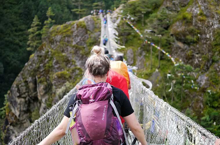 Cómo hacer una mochila para un viaje de aventura / Foto: Michael Clarke