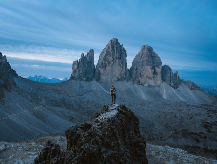Tres cimas de Lavaredo / Foto: Simon Migaj (unsplash)