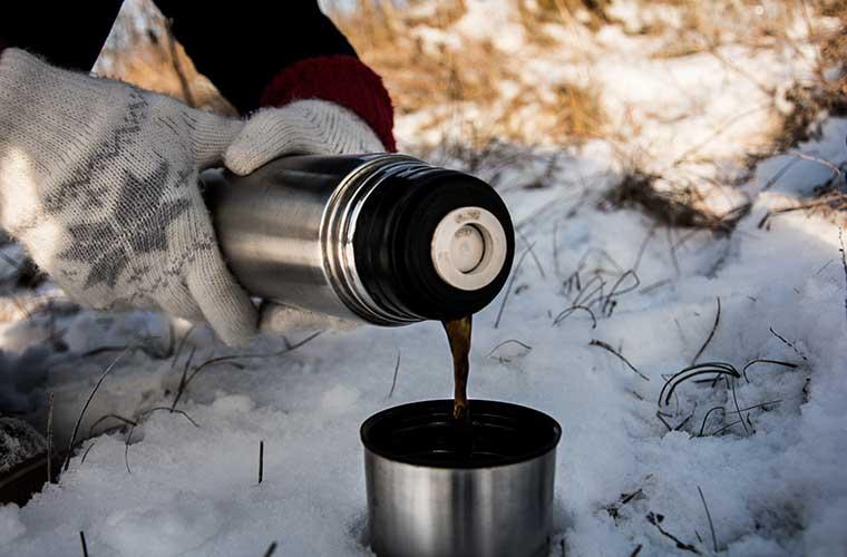 Alimentos calientes en la montaña/ Foto: Arunas Naujokas