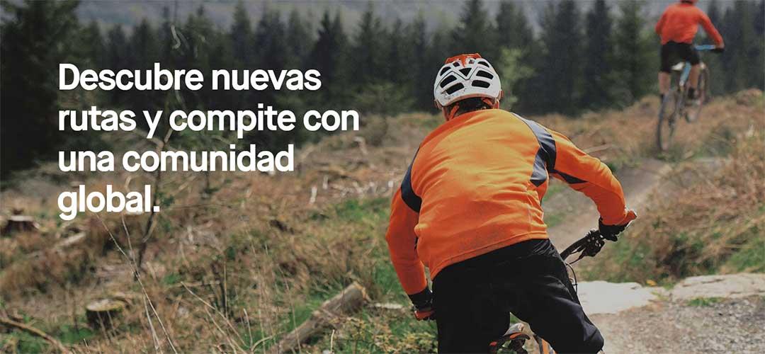 Descubre nuevas rutas y compite con una comunidad global. / Foto: strava.com