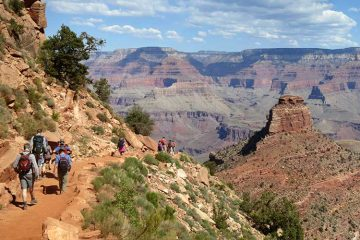 Senderistas descendiendo por South Kaibab Trail / Foto: Grand Canyon National Park (Flickr)