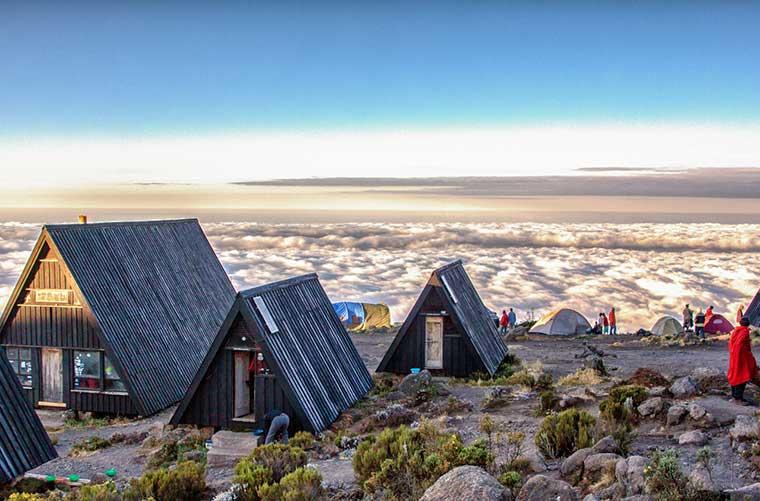 Horombo Hut / Foto: Thorsten Hansen (Flickr)