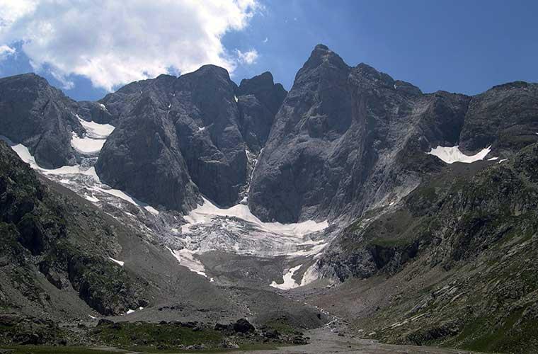 Imponente cara norte del Vignemale / Foto: Seb_cazu (Wikimedia Commons)