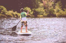 El Paddle Surf, el deporte de moda en la playa / Foto: Ben White