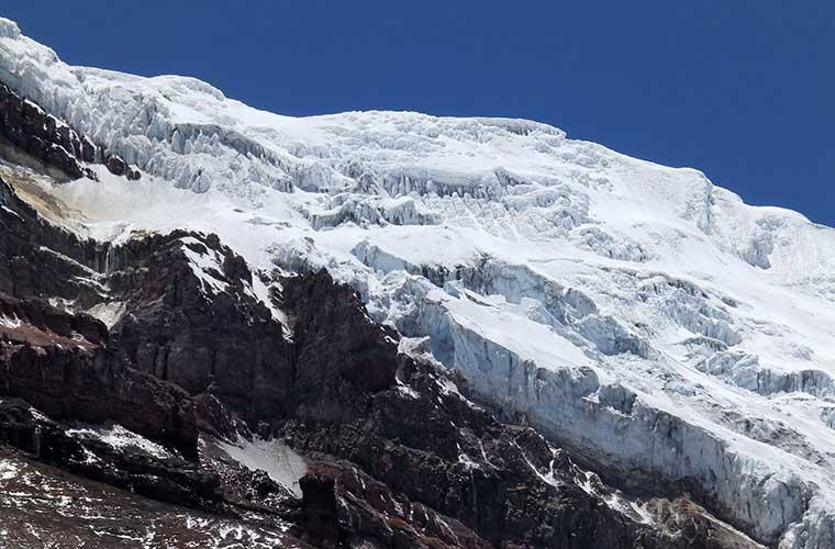 Los glaciares del Chimborazo / Foto: Waszti (Pixabay)