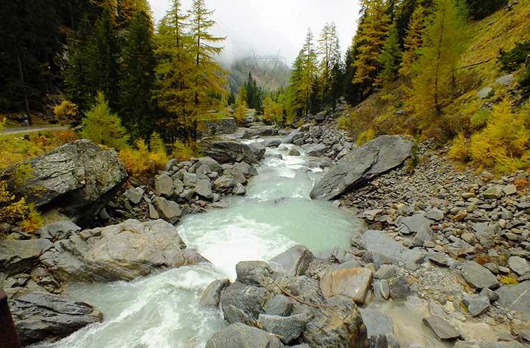 Senderismo en los Alpes occidentales de Italia. Valle d'aosta (pixabay)