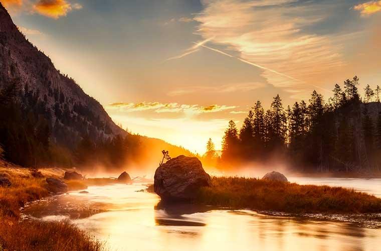 10 senderos para explorar el Parque nacional de Yellowstone / Pixabay