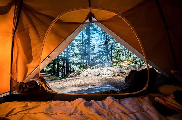 Consejos para el cuidado de tu saco de dormir / Foto: Scott Goodwill