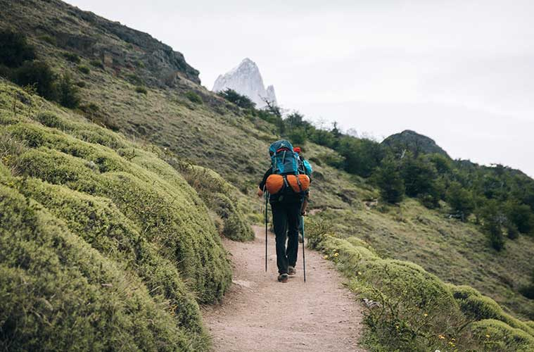 Equipo de senderismo / Foto: Maria Fernanda Gonzalez